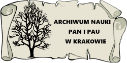 Archiwum Nauki PAN i PAU w Krakowie